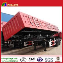 40 tons side dump semi trailer dump truck trailer foe sale