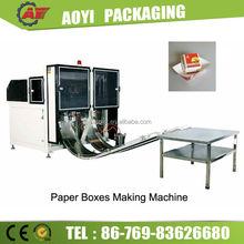 Full Auto Packaging Box Making Machine China Supply