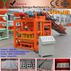 semi automatic concrete brick/block making machine with cement mixer QTJ4-26C