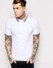 Diseño de bordado Polo estilo empresa Custom Mens Polo uniforme