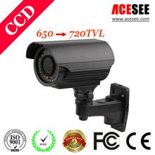 olympus ccd 650 tvl cctv cameras color digital camera ir Bullet Waterproof cameras