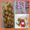 pe onion potato net mesh fruit packaging raschel bags