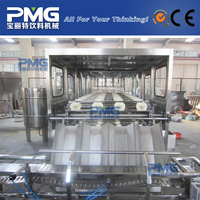 Automatic high speed 5 Gallon / 20liters PET bottle water bottling line