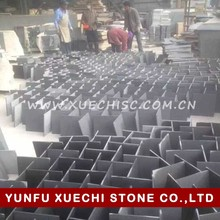 China factory best price imperial black granite tile flamed and brushed