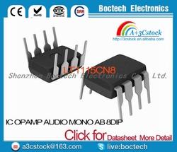 LT1115CN8 IC OPAMP AUDIO MONO AB 8DIP LT1115CN8 1115 LT1115 LT1115C 1115C T1115