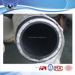 high pressure steel wire spiraled rubber hose DIN EN 856 4 SP