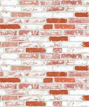 Brick stone wood PVC vinyl embossed soundproof Waterproof Wallpaper