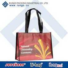 Promotional reusable shopping bags in non woven