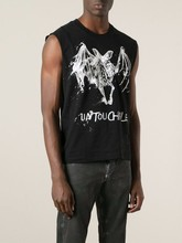 Keeping Fit Custom-Made Men'S 160G T/C Man Vest Embroidered Watermark Nanchang Sleeveless Workout Tank Top