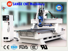 ATC system with 10 tools 3d cnc router machine wood working center