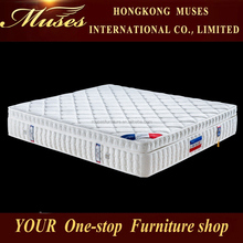Compressed spring hotel king size mattress E1054