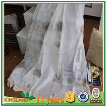 new curtain drapery designs leaf embroidery curtain design