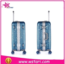 Rolling Travel Trolley Bag Polyester Wheeled Duffle Bag ABS PC carry-on Luggage