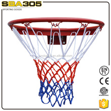 durable solid steel basketball backboard with basketball net