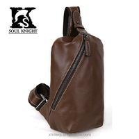SK-4031 men's leather messenger bags for college or travelling