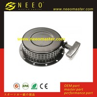 Small diesel engine spare parts, generator, 170F, 178F, 186F, L48, L70, L100 recoil starter assembly