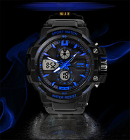 SKMEI big face design 5ATM water resistant sport wristwatch 0990