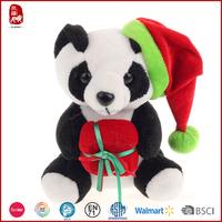 China supplier christmas gifts plush panda bear wholesale