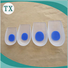 Silicone heel pad increased insoles for OEM F3009