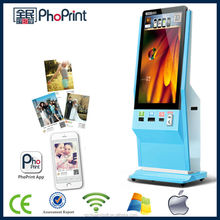 2015 hot sale colorful photo printer and touch screen lcd advertising player with network sharing/high-performance price