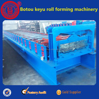 corner Chi and roof tile double layer cold make machine