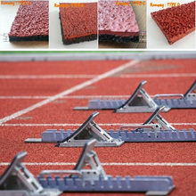 Running Track Material, Rubber Track Manufacturer, Rubber/ Synthetic Running Track -FN-D-150528