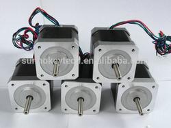 High Power Nema stepping motor 1.8 degree 42mm High Stepper Motor for 3d printer from china factory