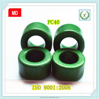 Large size toroid ferrite magnetic ring core green