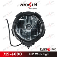 "top quality 9"" inch round off road HID driving lights, car HID work light, HID working light for trucks"