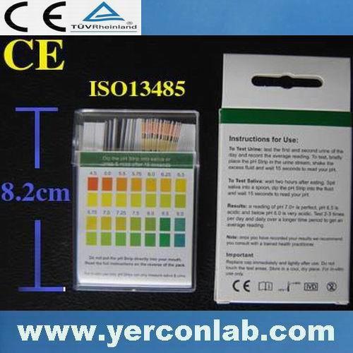 Ph indicador 2 cor CE ISO FDA