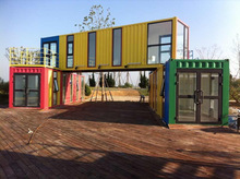 From China low cost Container House Holiday Hotel