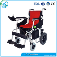 Cheap Security power wheelchair with lithium battery