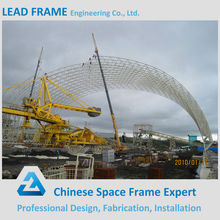 Prefabricated Light Weight Steel Frame Structure Barrel Shed