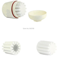 5PK замена фильтра основной замена фильтрующий элемент для ванной душ головы умягчитель воды очиститель для удаления хлора в линии