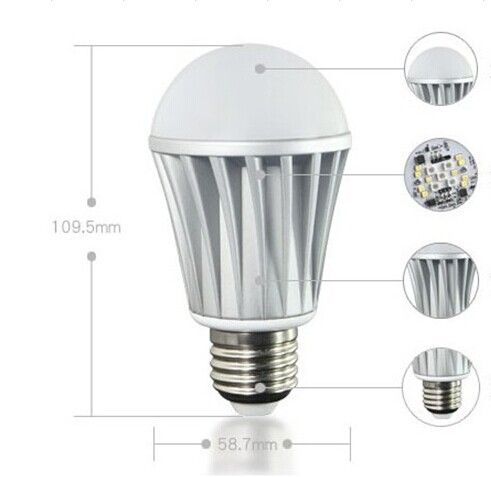 Timer+Group+Music Android IOS RGBW Bluetooth LED Bulb Smart lighting