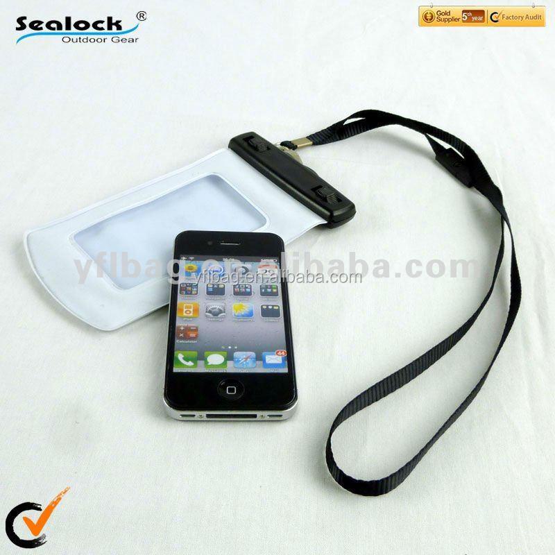 wholesale PVC Waterproof Bag for Samsung Galaxy S4