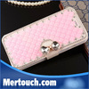 flip stand leather bling diamond evening party case for iphone 6 , for iphone 6 evening party phone case