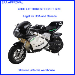 2015 ,pocket bike, mini bike 4 stroke pocket bike with EPA , legal for Canada,USA WAREHOUSE(MT-3)