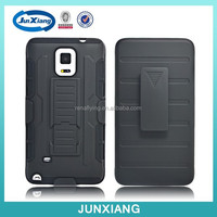 Alibaba express holster combo robot case with stand for samsung galaxy note 4