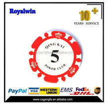 Hot Sale 11..5g Ceramic Poker Chips With Your Design,Clay Poker Chips With Your Own Logo
