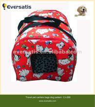 2012 lovely dog travel bag