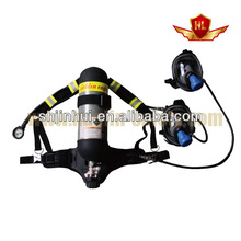 buena calidad de equipos de seguridad máscara de dos aparatos de respiración portátiles