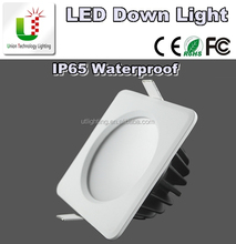 2.5inch 7W square IP65 waterproof recessed LED down light