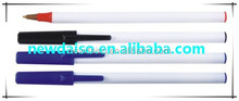 Top quality customized promotion plastic ball pen/roller tip pen