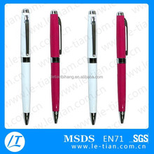 LT-Y540 Smooth writing advertising metal ball pen for corporate gift