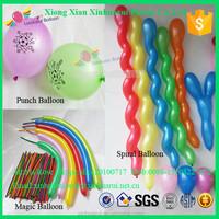 Kids Toys Gift Punch Ball Balloons 260 Magic Balloons Spiral Shaped Latex Balloons