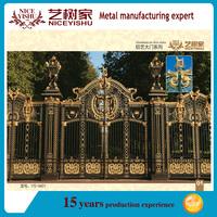 New design luxury aluminum gate/house gate (factory direct)
