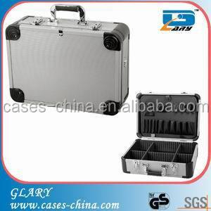 2015 fashion tool box MDF/ABS portable aluminum tool box