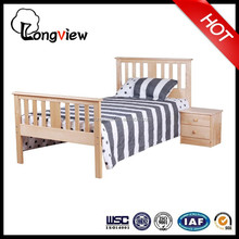 High Quality Solid Wooden Single Bed For Sales