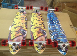 4295 bamboo complete longboard skateboard wholesale made in China